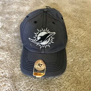 Miami Dolphins '47 NFL Fitted Hat Medium NWT